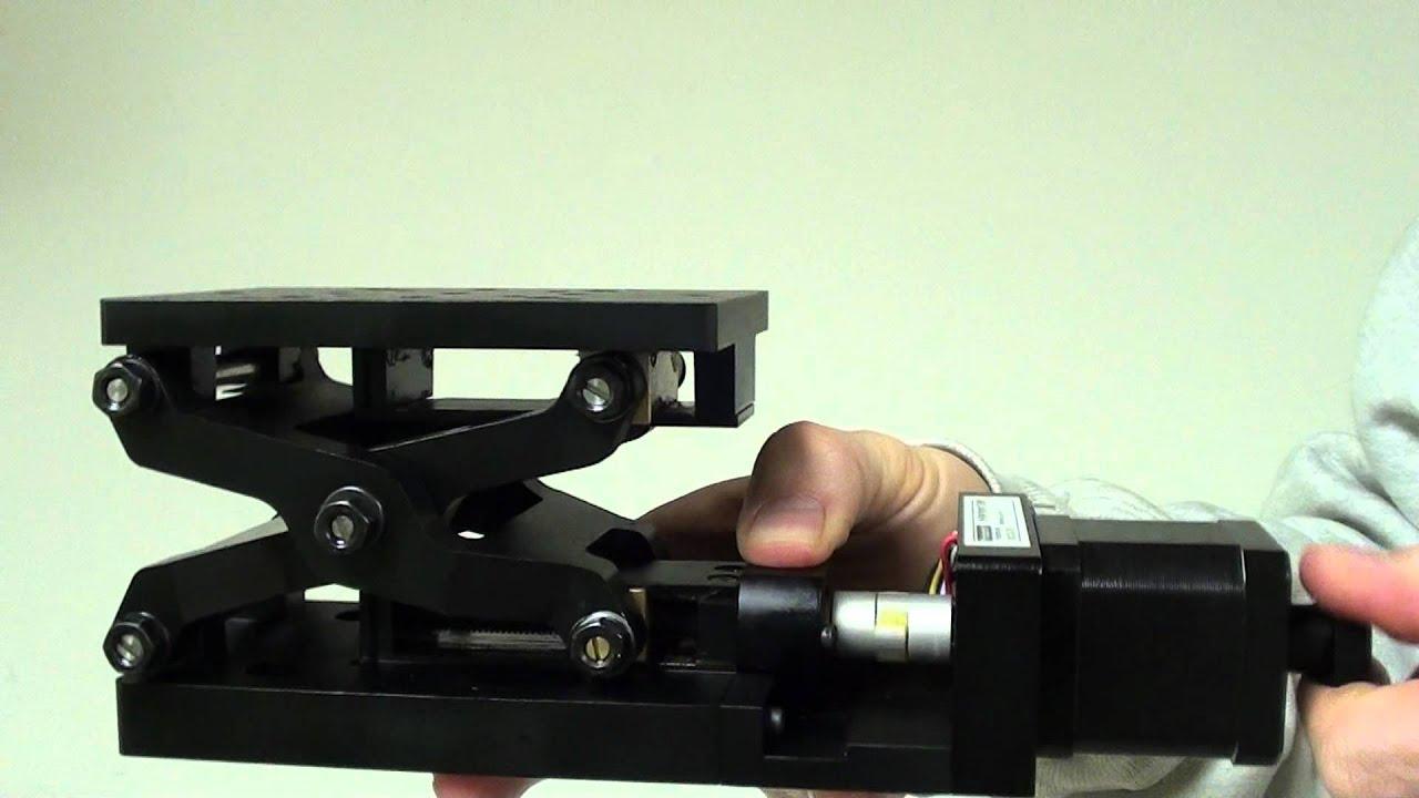Motorized Lab Jack Youtube