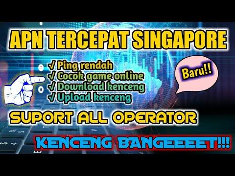 APN TERCEPAT SEMUA OPERATOR IMPORT SINGAPURA. KENCENG ABIS!!