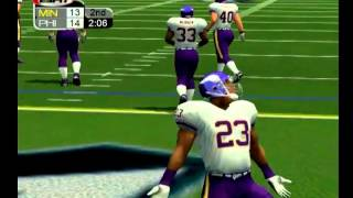 NFL 2K3/ EAGLES VS VIKINGS (2ND QTR) [PS2] [HD]
