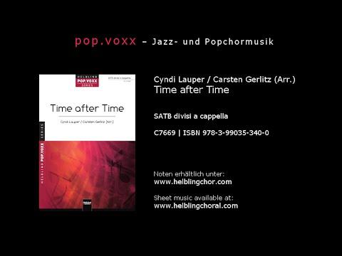 Cyndi Lauper / Carsten Gerlitz (Arr.) - Time after Time