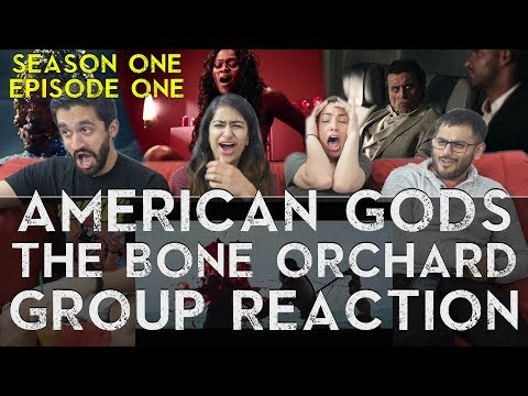 American Gods - 1x1 The Bone Orchard - Group Reaction