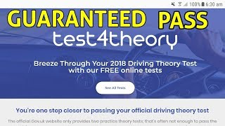 BEST WEBSITE FOR THEORY TEST PRACTICE | GURANTEED PASS FIRST TIME