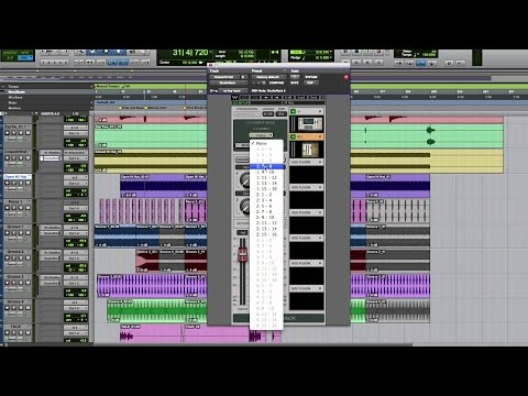 Recording with a Pro Tools HD or HDX System and a DiGiGrid DLS or DLI I/O