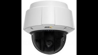 AXIS Q6034-E Network IP Camera Sample Footage recorded with ShinobiCCTV