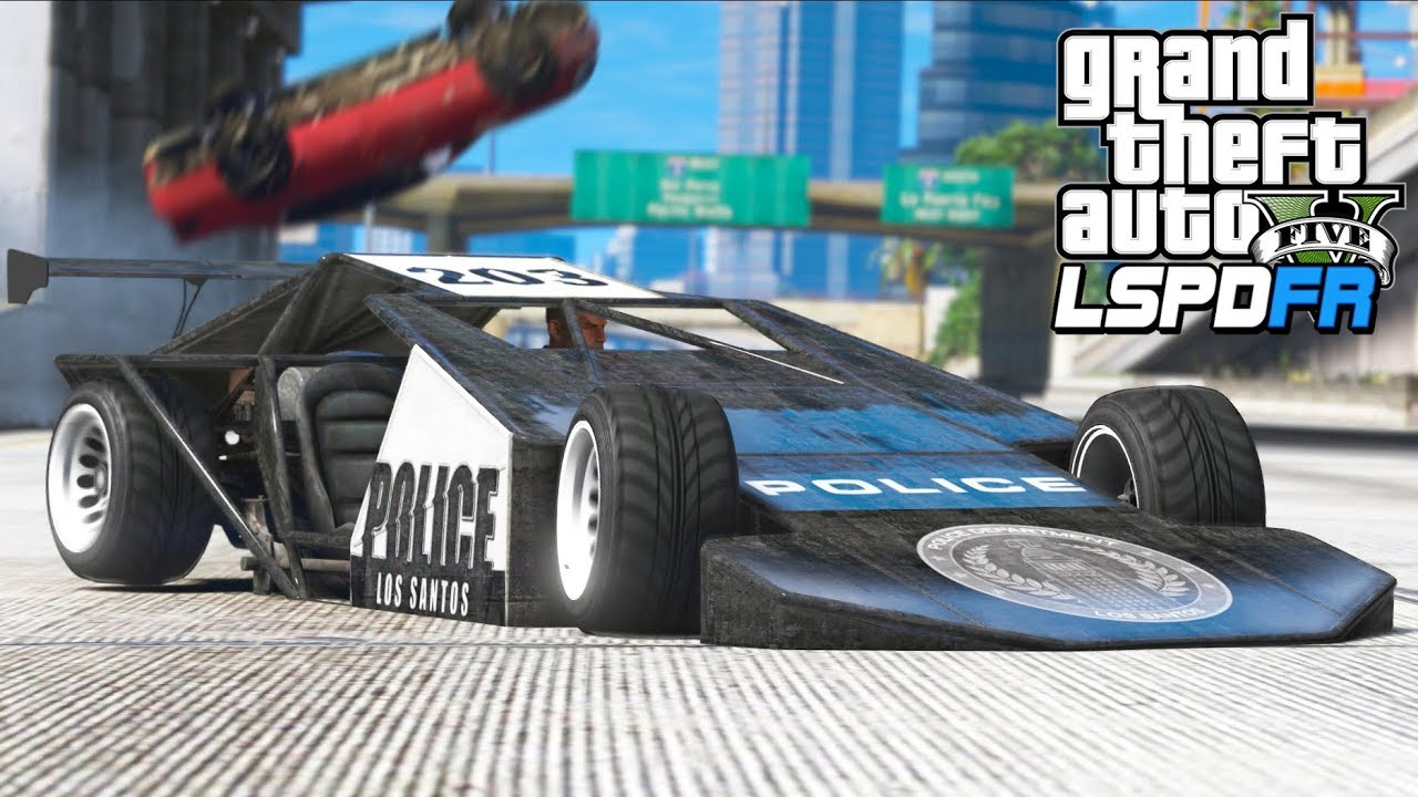 Cops LOVE the NEW Police Ramp Buggy!! (GTA 5 Mods - LSPDFR Gameplay)