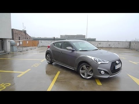 ENG Hyundai Veloster Turbo Test Drive and Review