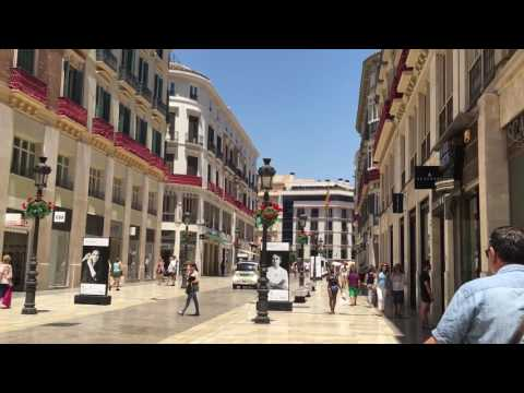 Malaga City Centre - Video of Málaga