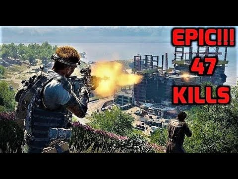 BLACK OPS 4!!! Gameplay - 47 KILLS HIGHEST KILL STREAK
