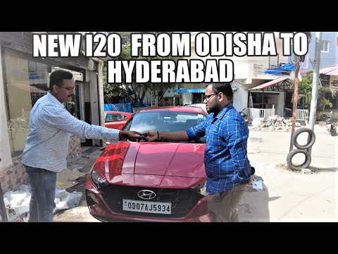 NEW I20 FROM ODISHA HYDERABAD