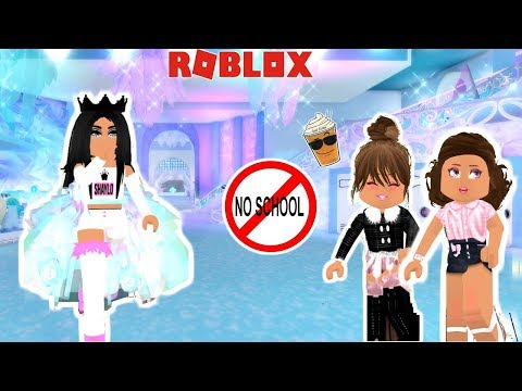 I CAUGHT MY DAUGHTER DITCHING SCHOOL WITH HER FRIENDS!!-Royale High