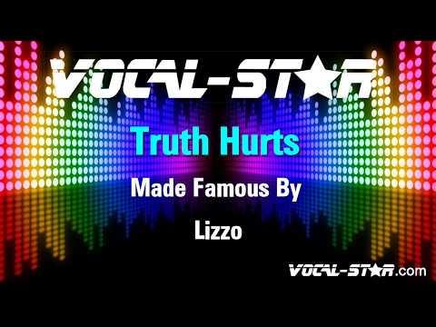 Lizzo - Truth Hurts (Karaoke Version) with Lyrics HD Vocal-Star Karaoke