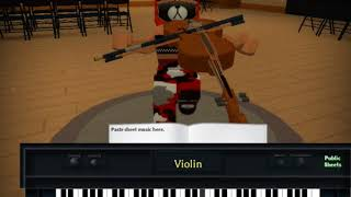 Call Out My Name // Roblox Piano
