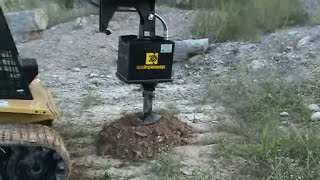 Video Earth augers