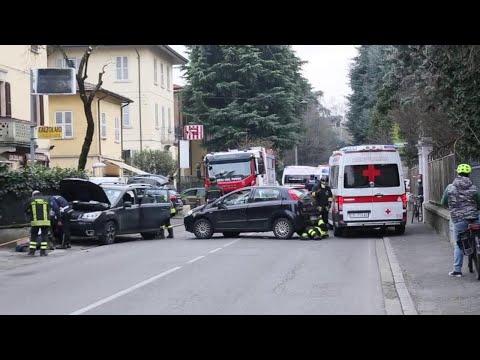 Download Reggio Emilia, incidente in viale Risorgimento e strada chiusa