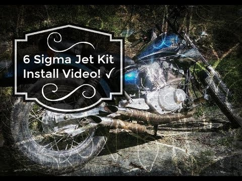 6 Sigma Jet Kit Install On A xv250 Virago Vstar | How To Video | Bobber  Build