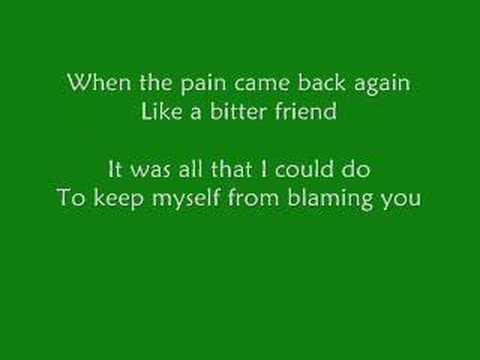 Brandon Heath - I'm Not Who I Was (with Lyrics)