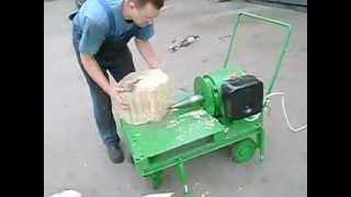 трикотажным плетением морковка для колки дров гамма