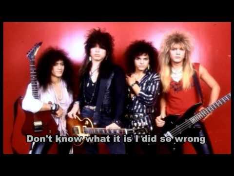 Cinderella - Don't Know What You Got (Till It's Gone) + lyrics