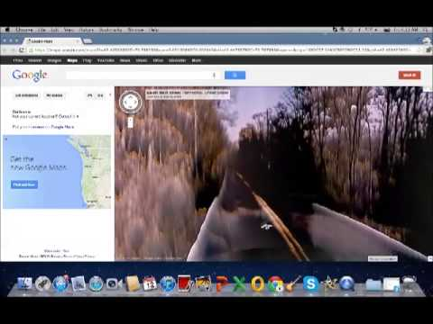 Haunted Road on Google Maps
