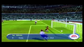 FIFA 2001 Gameplay Friendly Match (PlayStation)