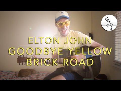 goodbye yellow brick road - elton john (200me cover !!!)