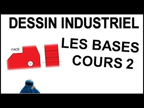 dessin industriel cours 2 les bases youtube. Black Bedroom Furniture Sets. Home Design Ideas