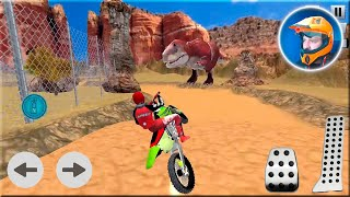 Offroad Dino Escape Heavy Bike Racing Games Android Gameplay