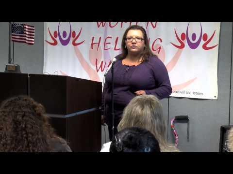 Women Helping Women,  A hand up to employment.