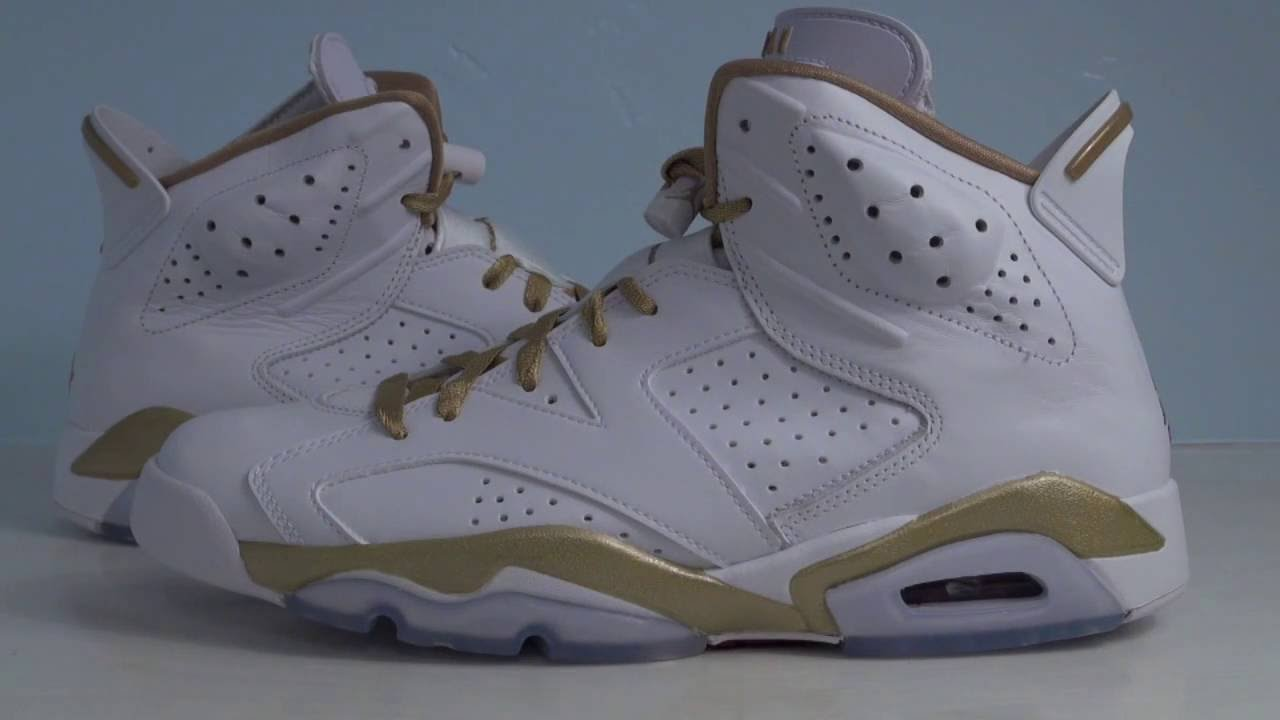 best website 598bf 7e403 australia air jordan 6 vi gold medal golden moments pack youtube f0053 f53f5