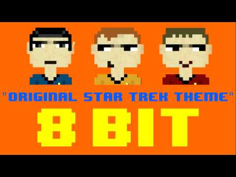 Original Star Trek Theme (8 Bit Remix Cover Version) [Tribute to