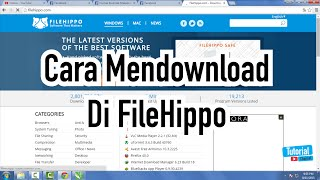 Gambar cover Cara Mendownload Di Filehippo - Tutorial Video