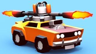 ГОНКИ НА ВЫЖИВАНИЕ Игровой мультик про БИТВУ МАШИН в игре для детей Crash of Cars