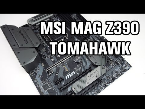 MSI MAG Z390 Tomahawk Motherboard Review - ThinkComputers org