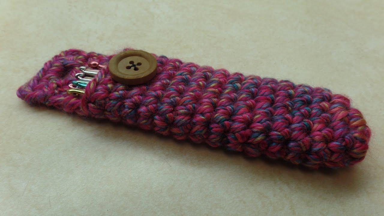Crochet How To Crochet Easy Crochet Hook Holder Carrier Tutorial