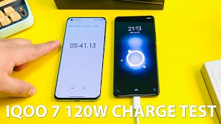 Vivo IQOO 7 120W CHARGING TEST. FASTEST IN THE WORLD!