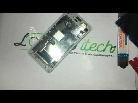 Tuto : changement d'écran (vitre tactile + afficheur/LCD) Sony Xperia Z1 Compact