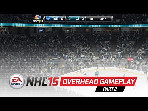 NHL 15 Overhead Gameplay - True Hockey Physics & Superstar Skill Stick - NHL 15 Overhead Gameplay Part 2! Featuring all-new Dynamic Low, Dynamic Medium, and Dynamic High gameplay cameras.