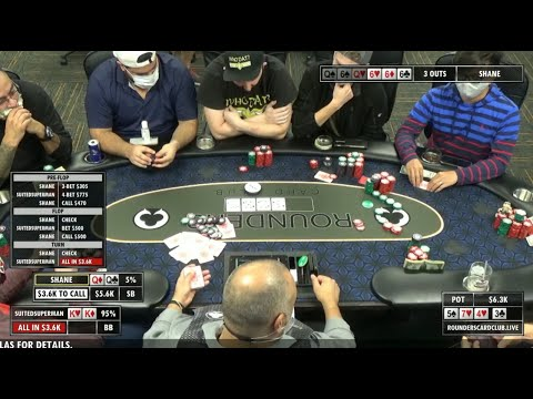 RoundersLIVE! Meet Up Game with Poker Traveler, Suited Superman, and Fireman Scott (S2E2)