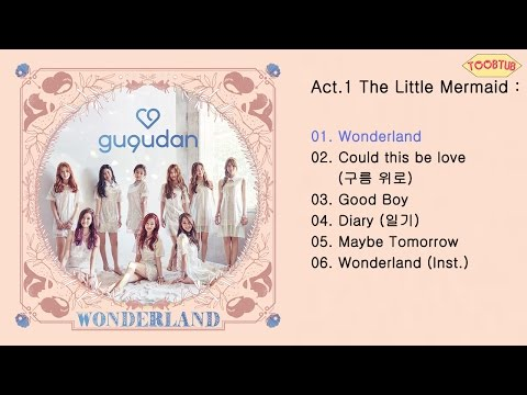 [Full Album] gugudan (구구단) - Act.1 The Little Mermaid [1st Mini Album]