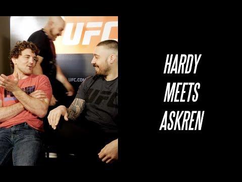 UFC Facebook live BTS & Interview Ben Askren & Dan Hardy
