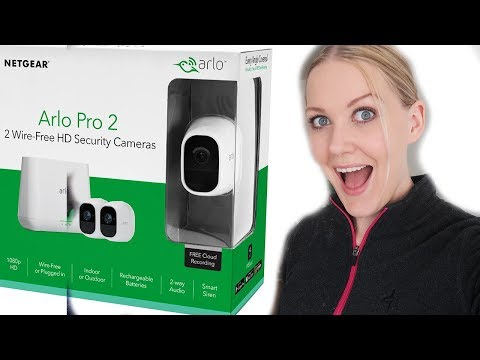 Arlo Pro 2 Security System - Unboxing and Testing (I´M BATMAN)