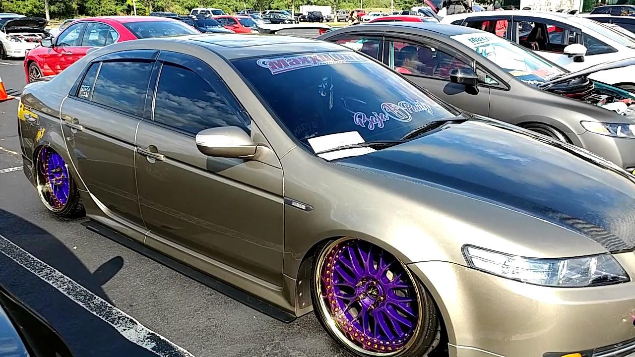 acura tlx 2008 custom. 2008 custom metallic gold acura tl carbon fiber hood trunk u0027smilezzu0027 acura tlx custom