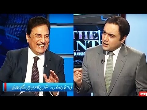 PTI Lawyer Naeem Bukhari joins Mansoor Ali Khan in To The Point 29 October 2016