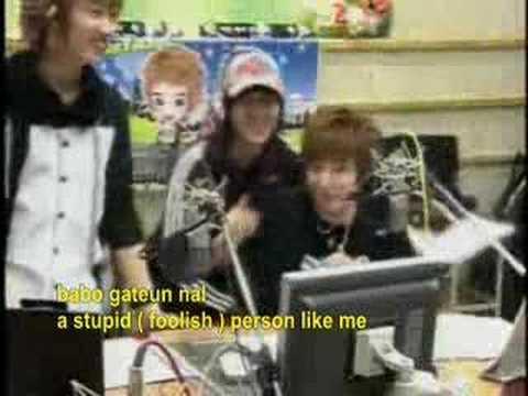 KyuHyun - Nayeosseumyeon ( if it was me) w/ lyrics
