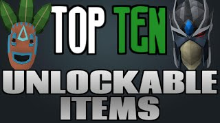 Top 10: Items You Should Get! [Runescape 2014]