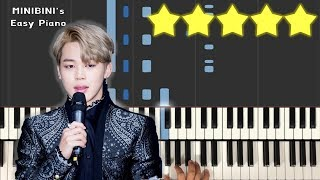 BTS JIMIN (지민) - Promise (약속) 《MINIBINI EASY PIANO ♪》 ★★★★★ [Sheet]