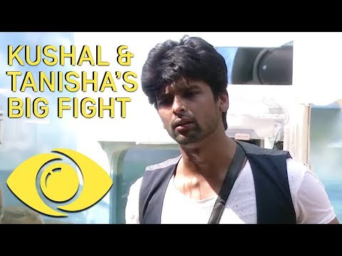 Kushal And Tanisha Big Fight - Bigg Boss...