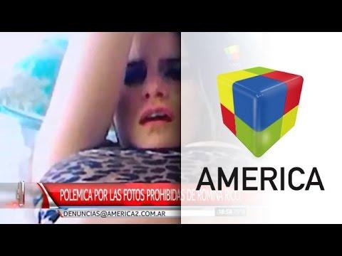 Polémica por la aparición de fotos y videos prohibidos de Romina Ricci