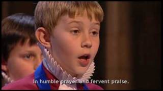 O Thou Who Camest From Above : Rochester Cathedral Choir