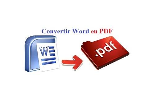 Convertir un fichier word en pdf transformer un fichier - Convertir fichier pdf en open office ...